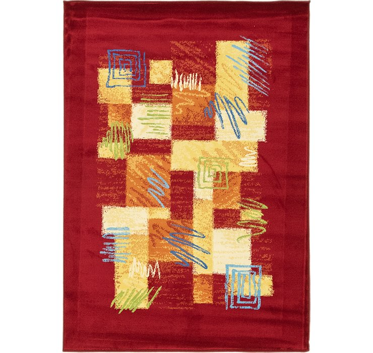 4' x 5' 7 Reproduction Gabbeh Rug