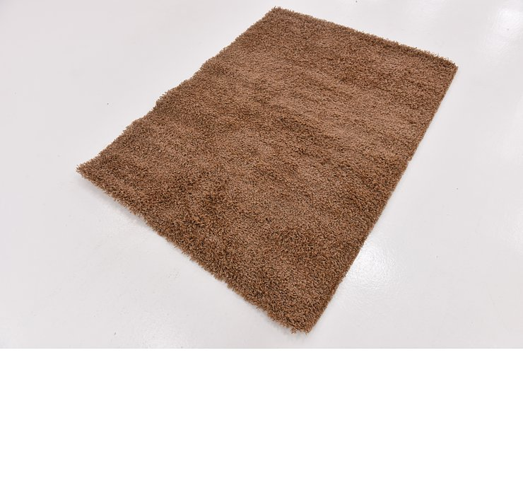 4' x 5' 6 Solid Shag Rug
