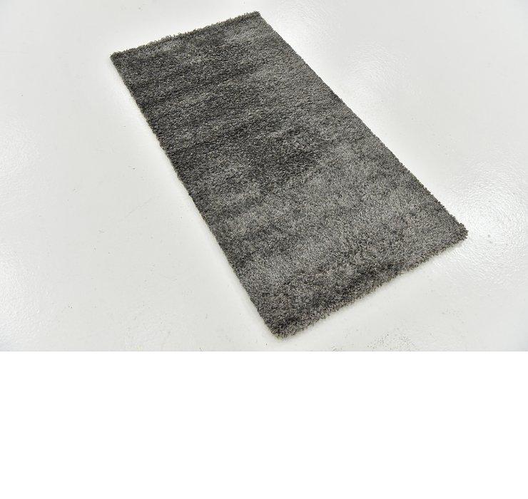 70cm x 132cm Solid Shag Rug