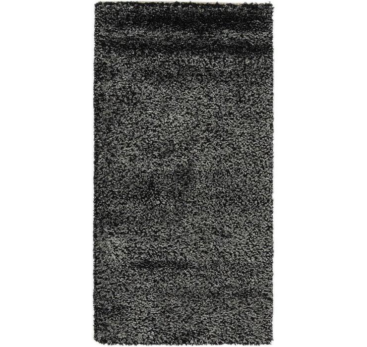 2' 3 x 4' 4 Multi-Tone Shag Rug