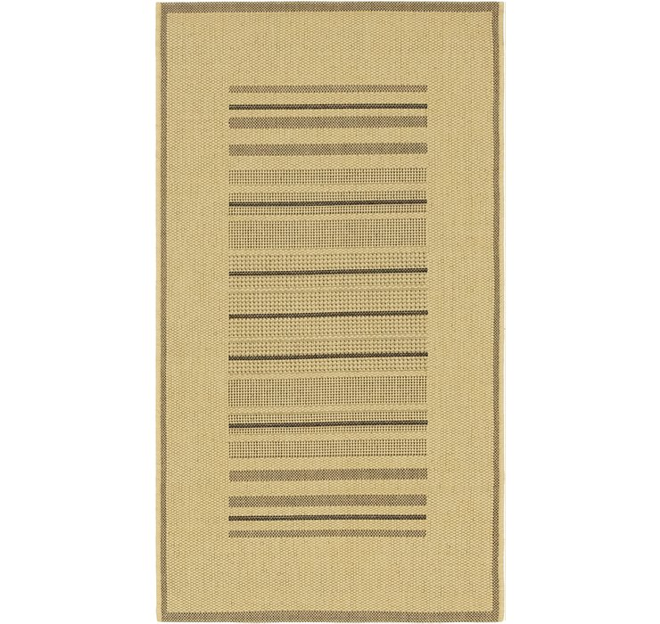 2' 8 x 4' 10 Outdoor Border Rug