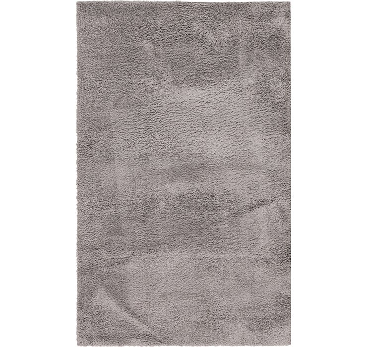 157cm x 245cm Luxe Solid Shag Rug