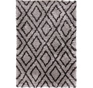 Link to 165cm x 240cm Luxe Trellis Shag Rug