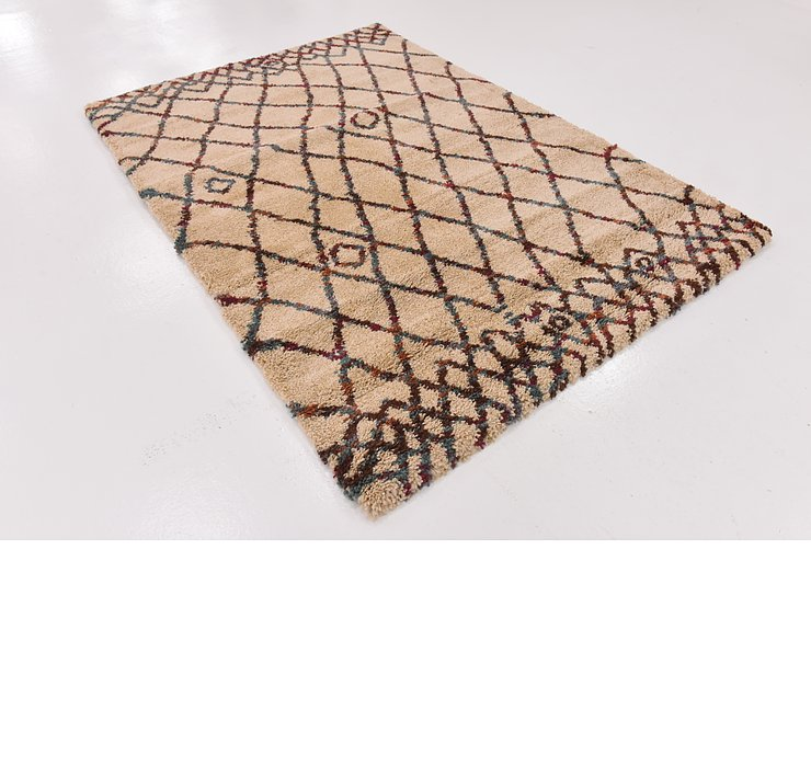 5' 6 x 8' Marrakesh Shag Rug