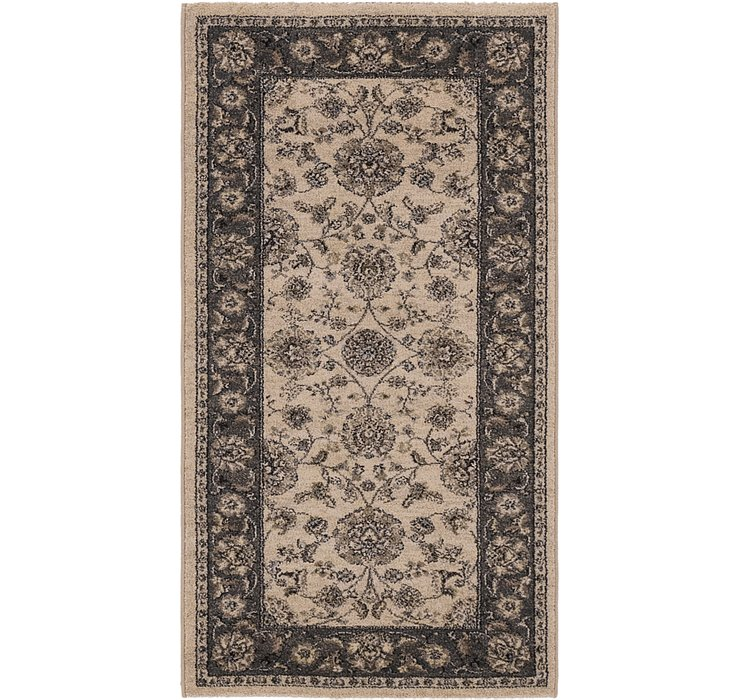 2' 7 x 5' Kashan Design Rug