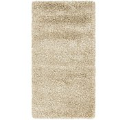 Link to 85cm x 155cm Solid Shag Rug