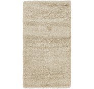 Link to 80cm x 147cm Solid Shag Rug