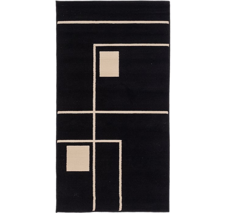 2' 7 x 4' 10 Reproduction Gabbeh Rug