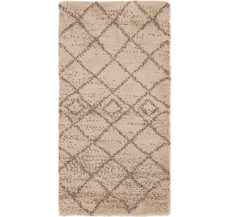 2' 8 x 5' Marrakesh Shag Rug