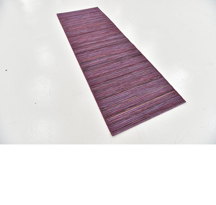 2' 8 x 7' 9 Outdoor Modern Runner Rug