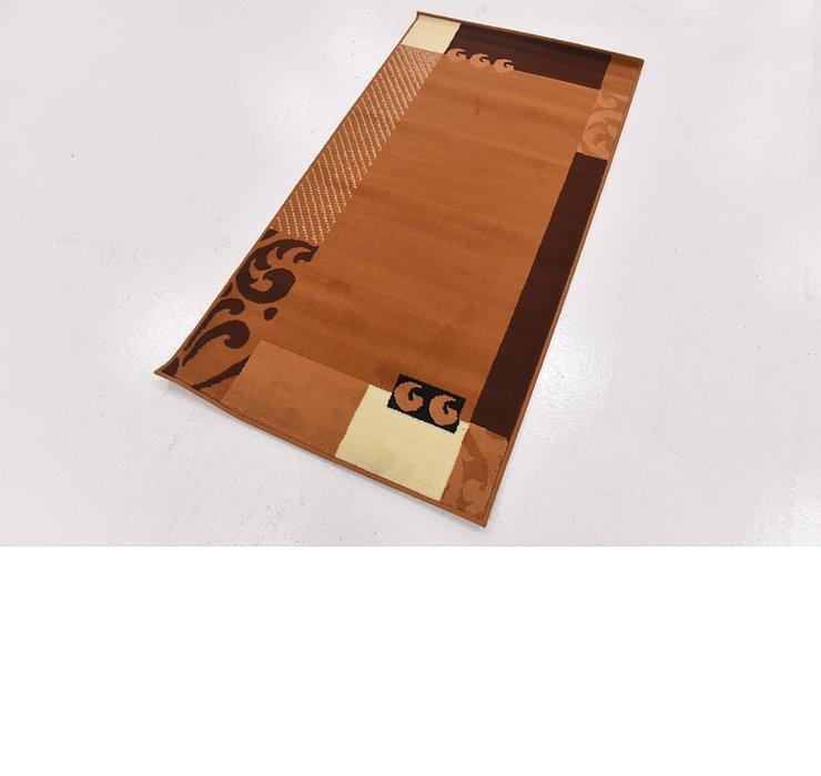 2' 7 x 5' Reproduction Gabbeh Rug