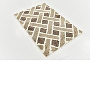 Link to 80cm x 122cm Luxe Trellis Shag Rug