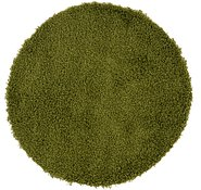 Link to 100cm x 102cm Solid Shag Round Rug