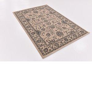 Link to 135cm x 195cm Kashan Design Rug item page