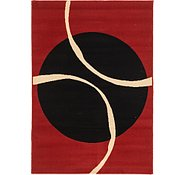 Link to 122cm x 168cm Reproduction Gabbeh Rug