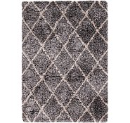 Link to 163cm x 225cm Luxe Trellis Shag Rug