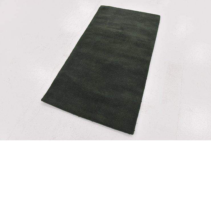 80cm x 152cm Solid Gabbeh Rug