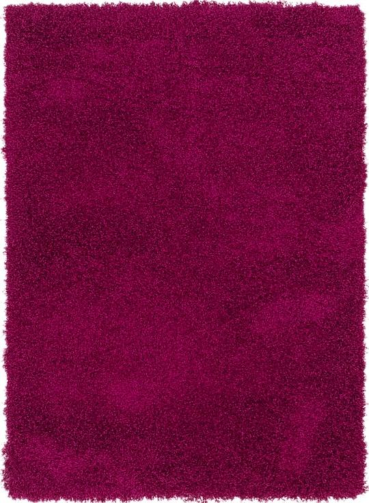 Purple  4' 2 x 5' 9 Luxe Trellis Shag