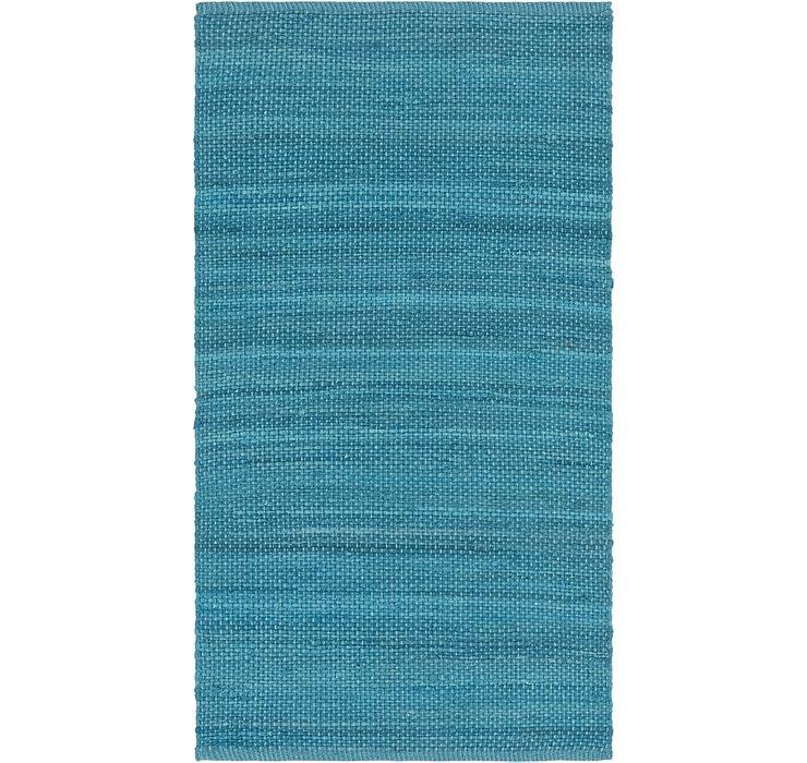 80cm x 152cm Chindi Cotton Rug