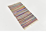 Link to 50cm x 102cm Chindi Cotton Rug