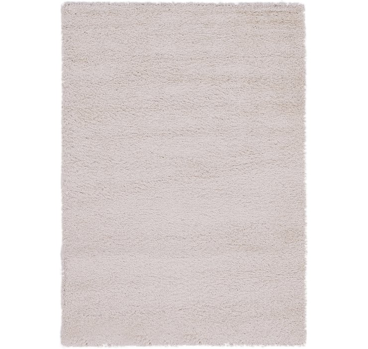 140cm x 198cm Luxe Solid Shag Rug