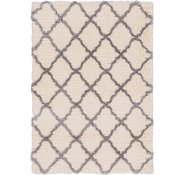 Link to 163cm x 230cm Luxe Trellis Shag Rug
