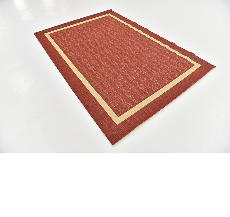 160cm x 230cm Outdoor Border Rug