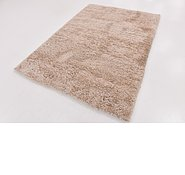 Link to 160cm x 225cm Solid Shag Rug
