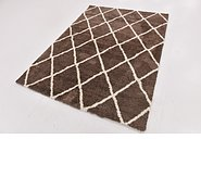 Link to 160cm x 213cm Luxe Trellis Shag Rug
