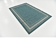 Link to 152cm x 245cm Outdoor Border Rug