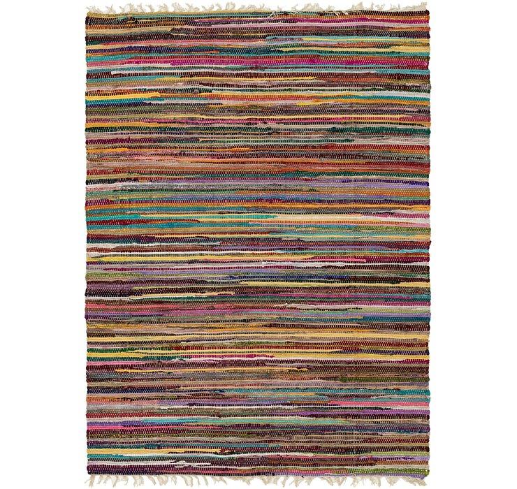 140cm x 198cm Chindi Cotton Rug
