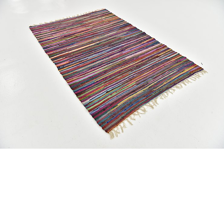 140cm x 203cm Chindi Cotton Rug