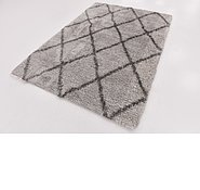 Link to 165cm x 230cm Luxe Trellis Shag Rug
