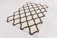 Link to 157cm x 218cm Luxe Trellis Shag Rug