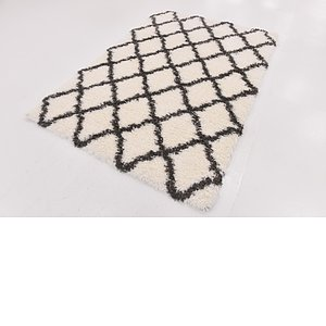 Link to 157cm x 218cm Luxe Trellis Shag Rug item page