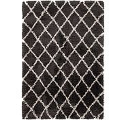 Link to 163cm x 240cm Luxe Trellis Shag Rug