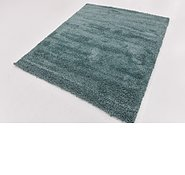 Link to 160cm x 190cm Solid Shag Square Rug