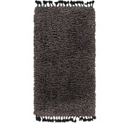 Link to 85cm x 157cm Luxe Solid Shag Rug