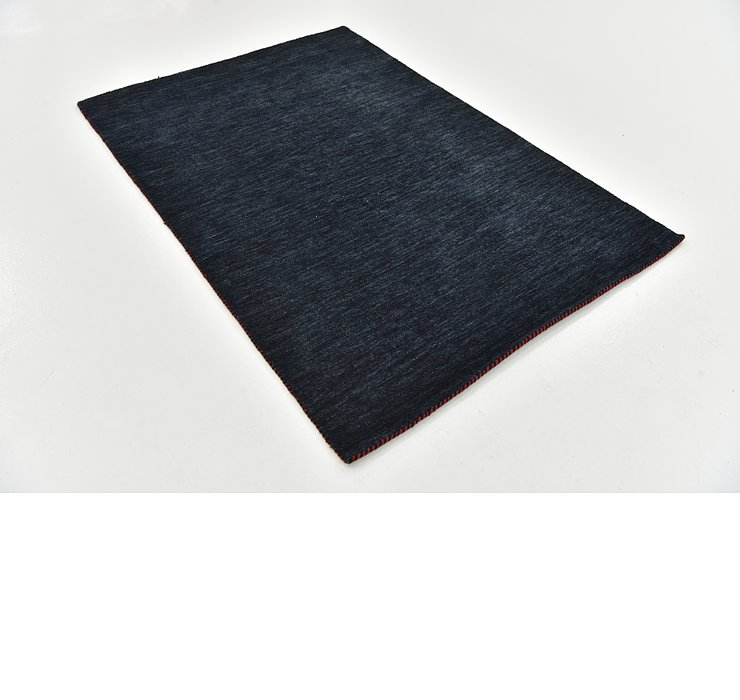 4' x 5' 9 Solid Gabbeh Rug