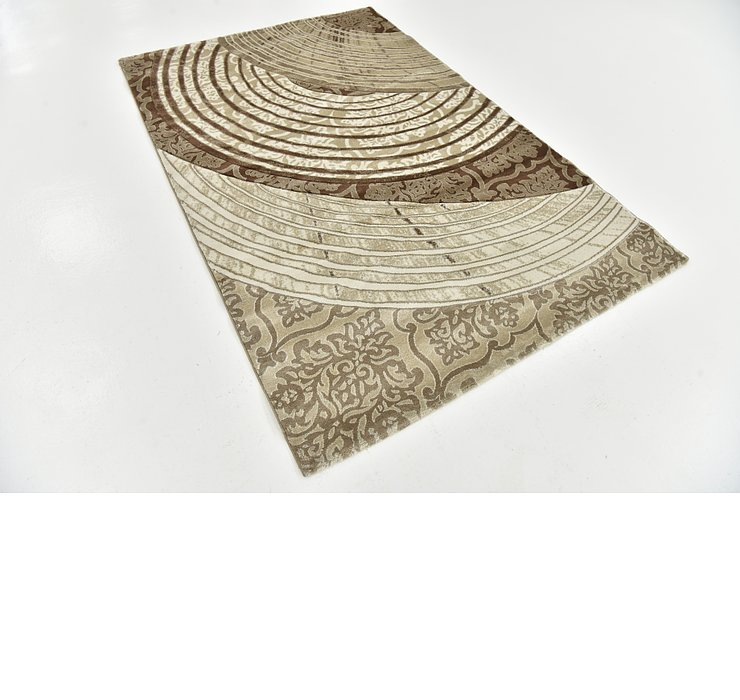 5' x 7' 7 Reproduction Gabbeh Rug