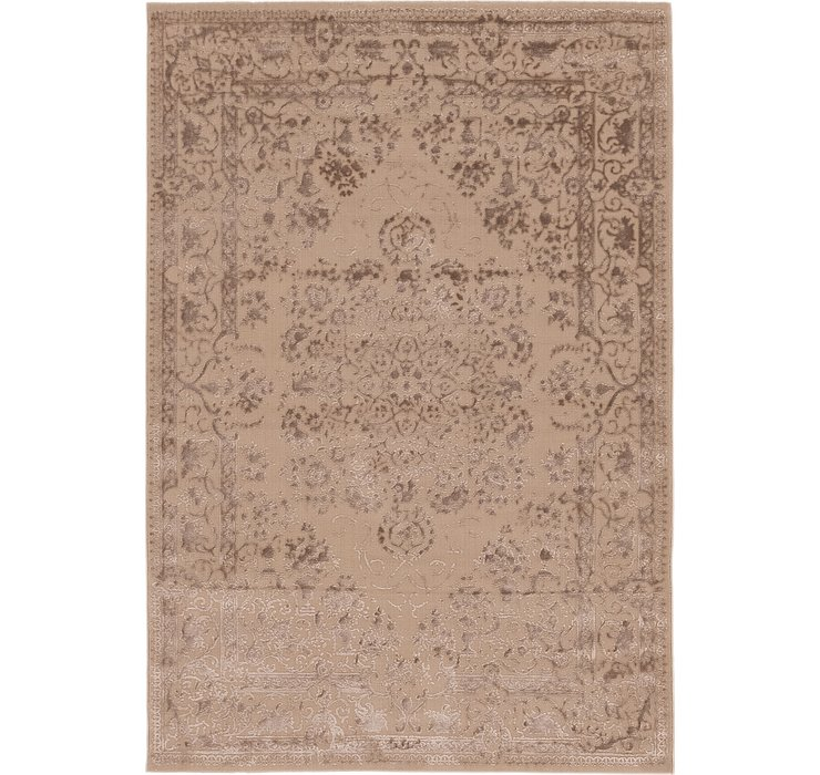 160cm x 235cm Carved Aubusson Rug