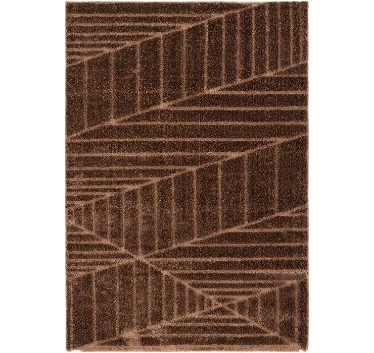 5' x 7' 7 Textured Shag Rug