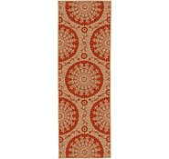 Link to 65cm x 183cm Outdoor Botanical Runner Rug