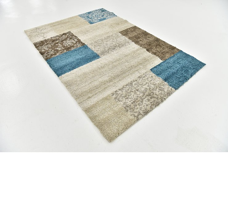 5' 3 x 7' 7 Luxe Frieze Rug
