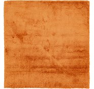 Link to 240cm x 250cm Luxe Solid Shag Square Rug