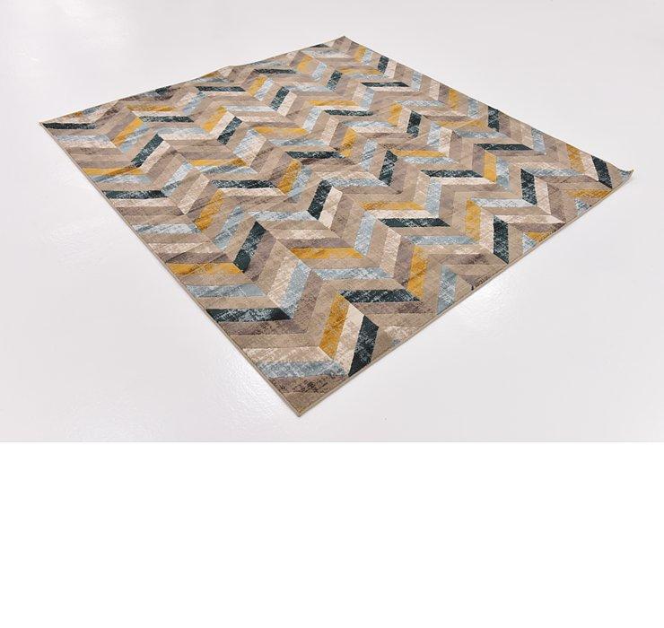 183cm x 183cm Mirage Square Rug