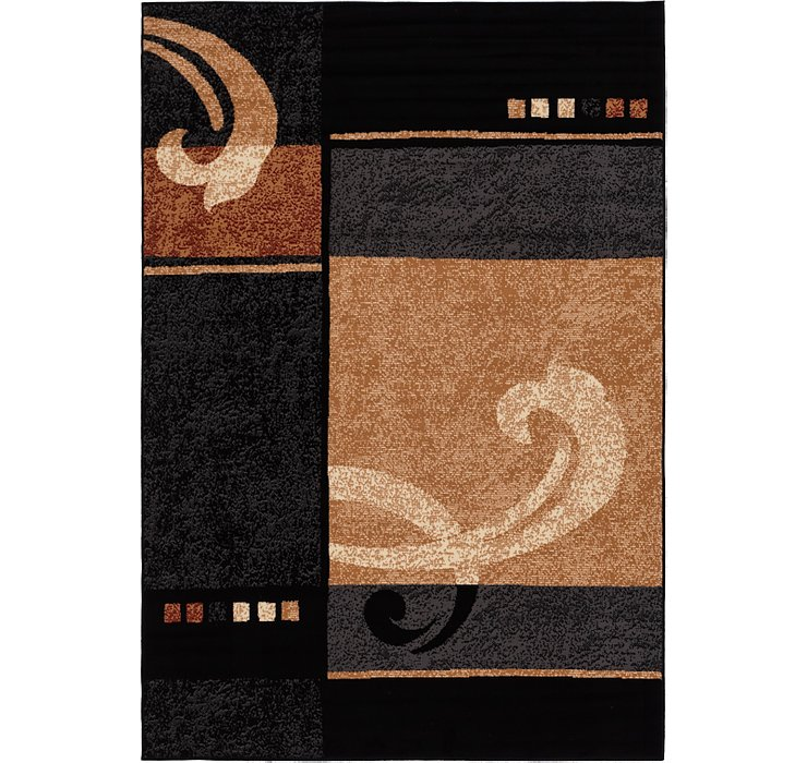 6' x 9' 9 Reproduction Gabbeh Rug