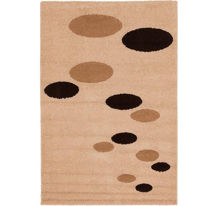 6' 6 x 9' 7 Multi-Tone Shag Rug