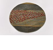 Link to 100cm x 100cm Kashkuli Gabbeh Round Rug