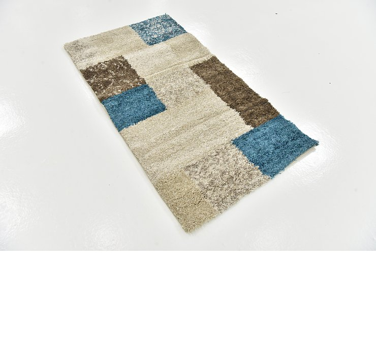 2' 7 x 4' 10 Luxe Frieze Rug